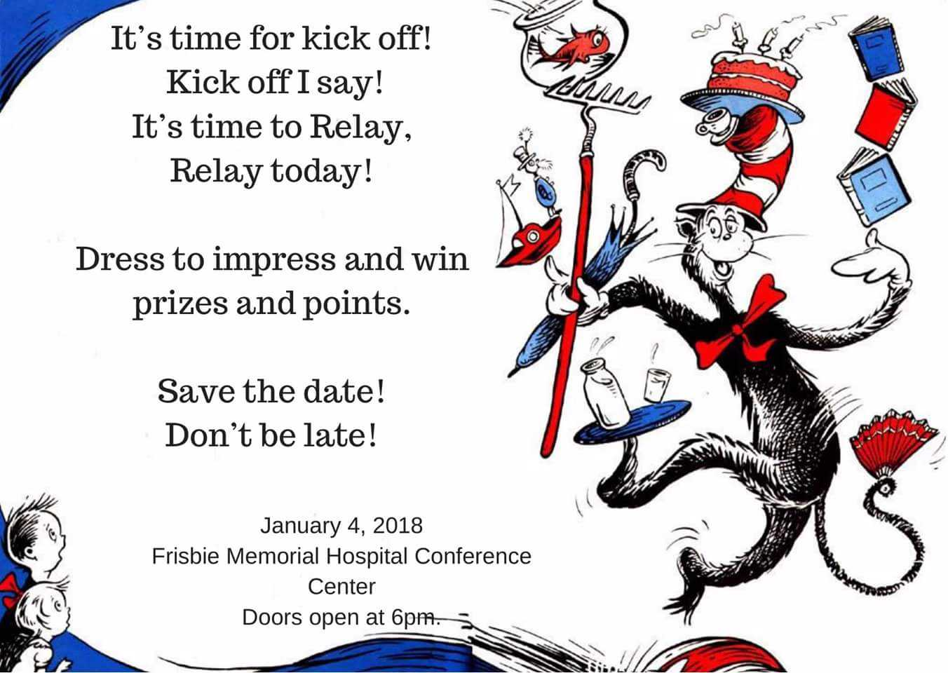 dr suess relay