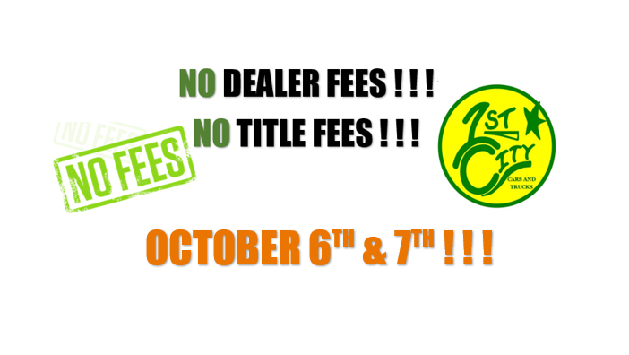 NO FEES OCT